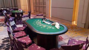 賭桌開台程序